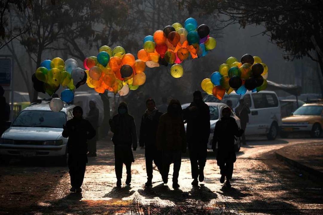 Trügerische Idylle:  In der Hauptstadt...er wieder kommt es dort zu Anschlägen.  | Foto: WAKIL KOHSAR