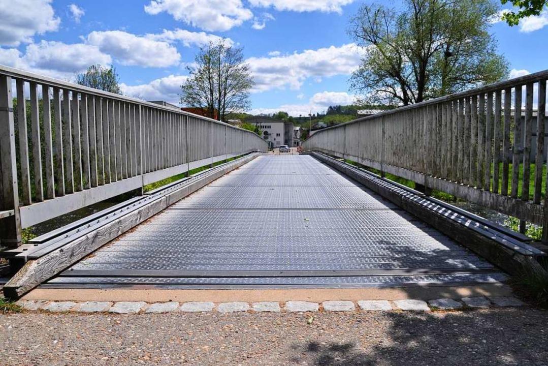 Hängepartie: Wie es mit der Brückenfra...ch wohl erst im September entscheiden.    Foto: Nicolai Kapitz