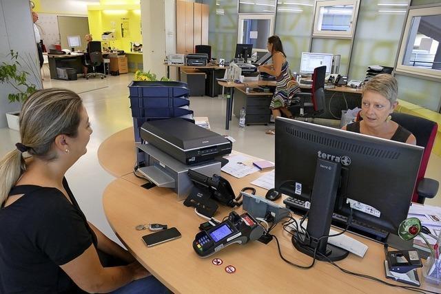 Ein Provisorium für das Bürgerbüro