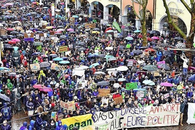 Klimaschutz-Demos sind Thema in Kirchengemeinde