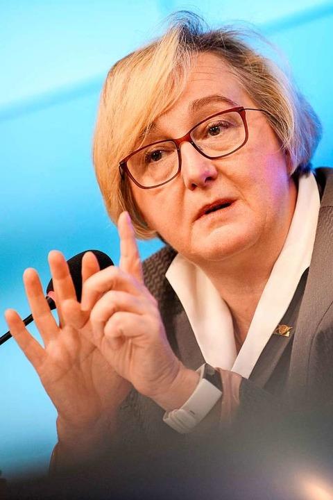 Die Wissenschaftsministerin des Landes, Theresia Bauer  | Foto: Sebastian Gollnow