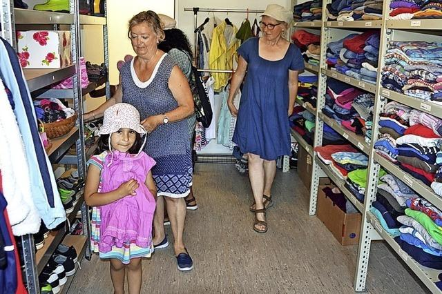 Kleiderkammer Dreisamtal bezieht neues Domizil