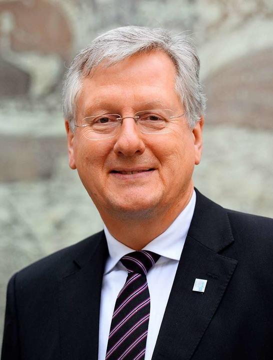 Der Rektor der Universität Freiburg: Hans-Jochen Schiewer  | Foto: Patrick Seeger