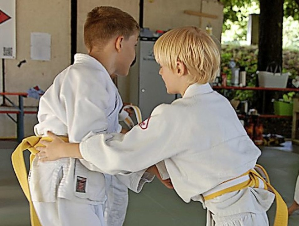 <BZ-FotoAnlauf>Judo-Club:</BZ-FotoAnla...nder hatten viel Spaß bei der Safari.   | Foto: Herbert Frey