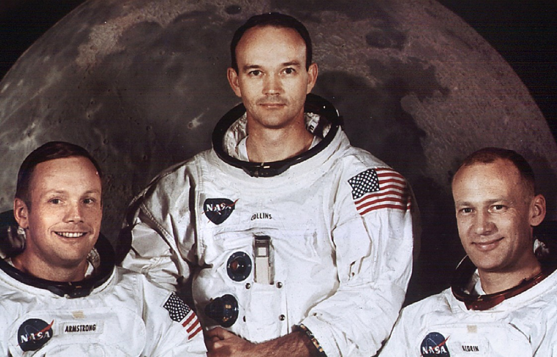 Neil Armstrong, Michael Collins und Edwin Aldrin (v. l.)  | Foto: A9999 DB NASA