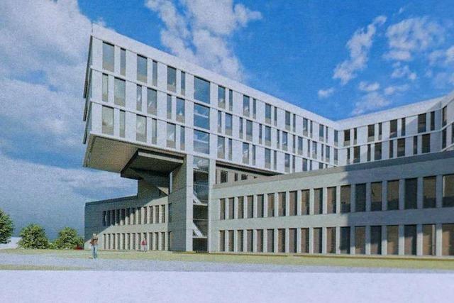 Neubau des Kreisklinikums Lörrach soll 2025 fertig sein