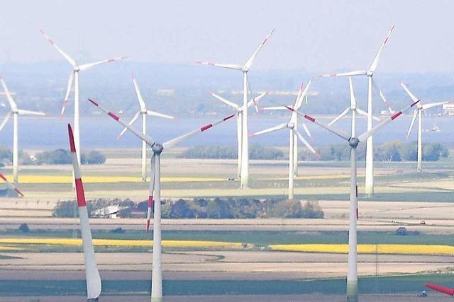 Der Ausbau der Windkraft kommt nicht voran