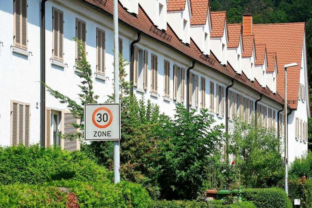 Häuser der Heimbau Breisgau eG in der Johannisbergstraße im Stadtteil Waldsee.  | Foto: Ingo Schneider