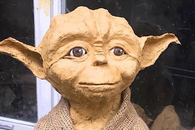 Meister Yoda ist verschwunden: Unbekannte klauen Lehm-Skulptur