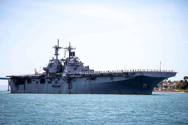 USA melden Zerstörung iranischer Drohne