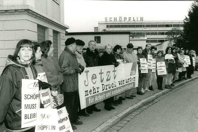 Vor 20 Jahren schloss das Lörracher Versandhaus Schöpflin