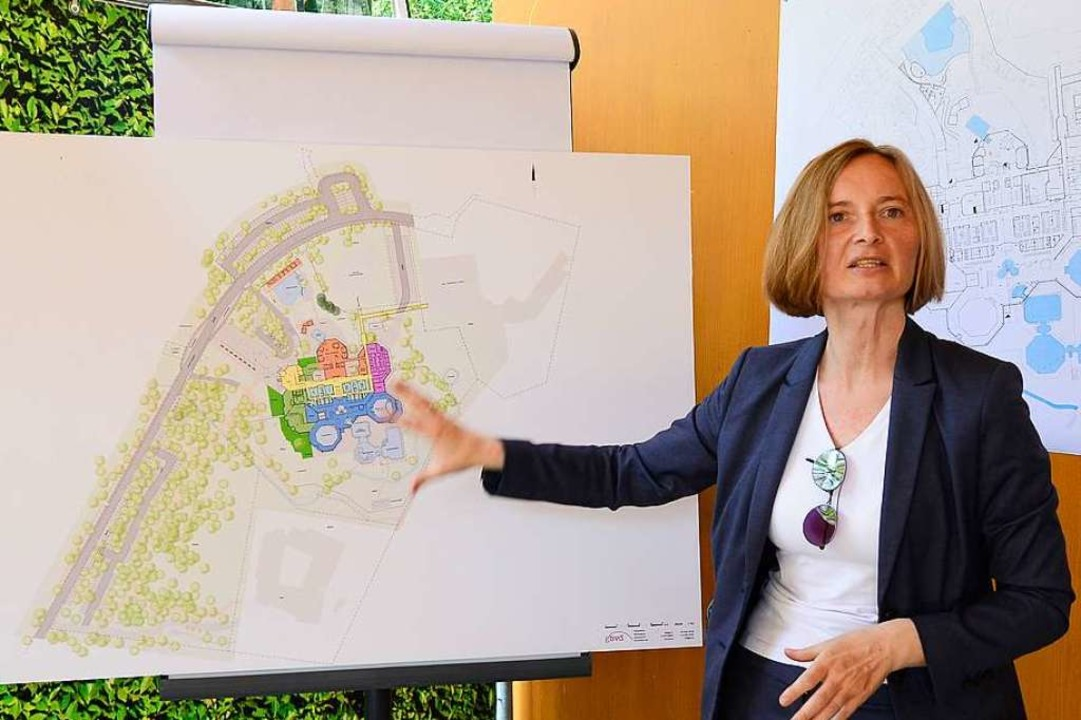 Magdalena Szablewska, Technische Geschäftsführerin der Freiburger Stadtbau.  | Foto: Ingo Schneider