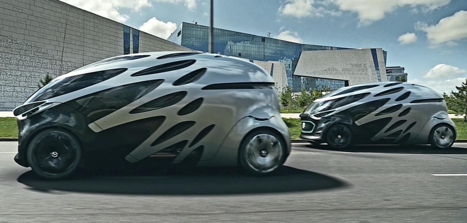 Wie im Science-Fiction-Film: Ob die Zukunft so aussieht, muss sich noch zeigen.   | Foto: Daimler