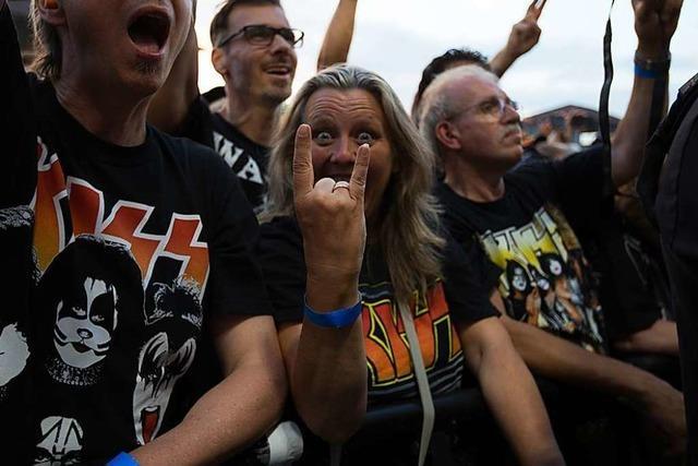 Was Vaddi-Chef Oßwald zum abgebrochenen Kiss-Konzert sagt