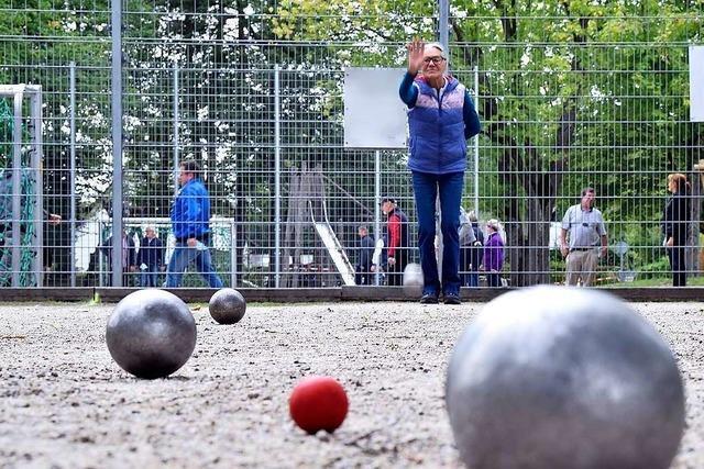 Auf dem Gelände einer Asylbewerberunterkunft könnte ein Boule-Platz entstehen