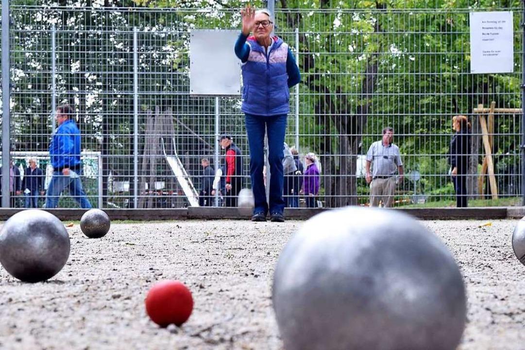 Am Ziel: Die Schopfheimer Bouler haben endlich eine Sportanlage in Aussicht.   | Foto: Thomas Kunz