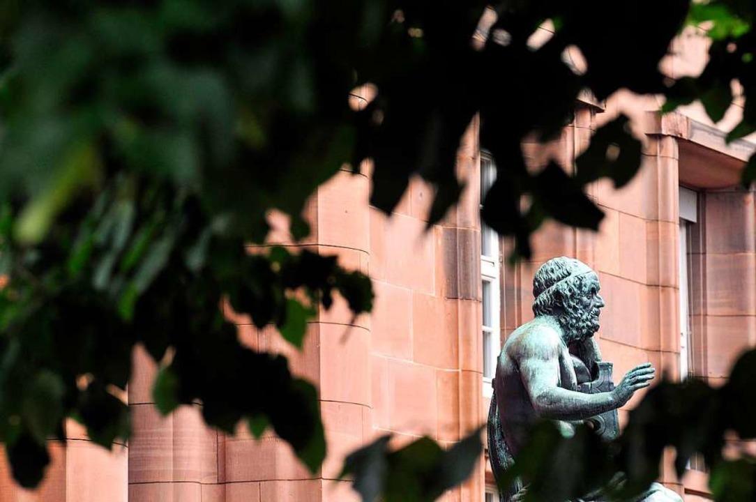 Die Freiburger Universität ist bei der Exzellenzstrategie gescheitert.    | Foto: Ingo Schneider