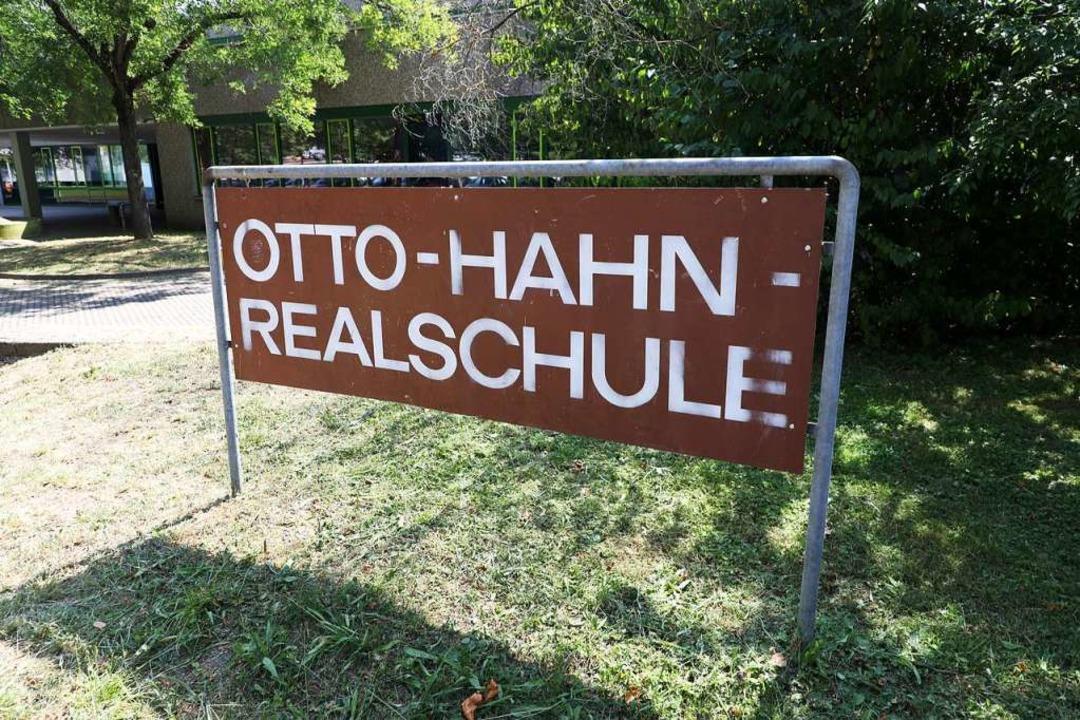 der Otto-Hahn-Realschule soll eine Verbundsschule werden.  | Foto: Christoph Breithaupt