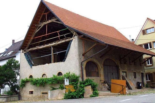 In der Alten Schmiede in Obereggenen könnte ein Gastrobetrieb entstehen