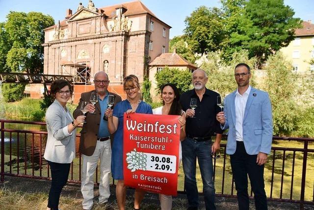 Wenig Veränderungen beim Breisacher Weinfest