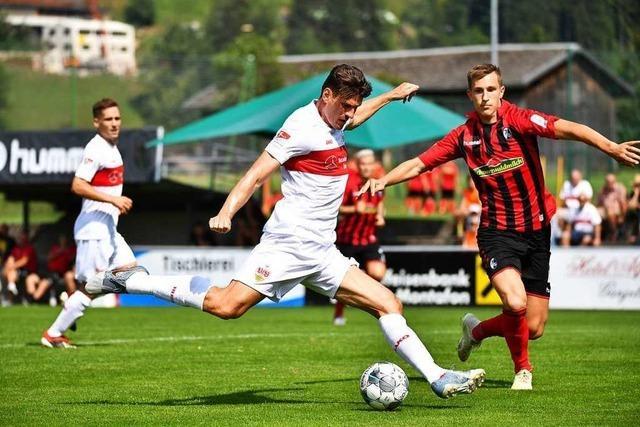 SC Freiburg verliert Testspiel gegen Zweitligisten VfB Stuttgart