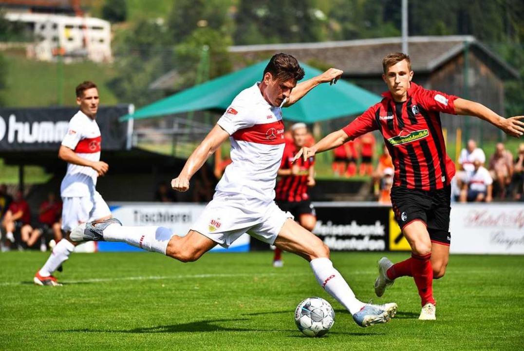 SC Freiburg verliert Testspiel gegen Zweitligisten VfB Stuttgart  | Foto: Achim Keller