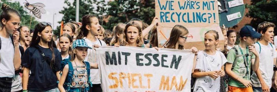 Wie war's bei ... der Fridays-for-Future-Demo in Freiburg?