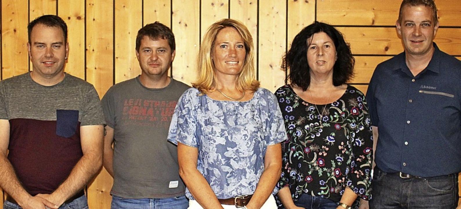 Vier  neue  Gemeinderäte gibt e s  in ...unner, Helga Stoll und Tobias Böhler.   | Foto: Martin Klabund