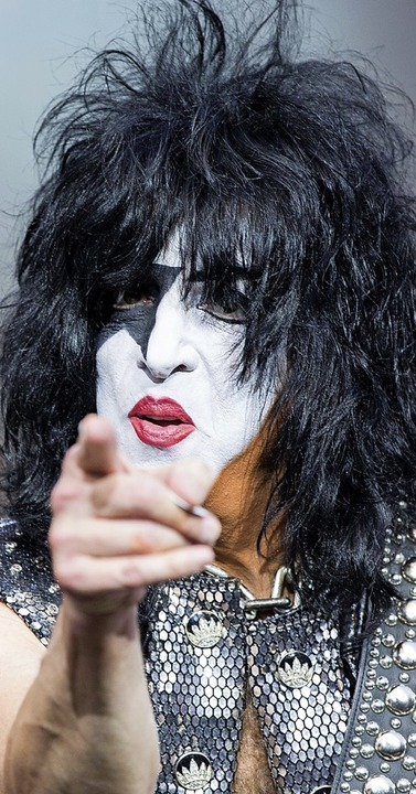 Kiss-Sänger Paul Stanley  | Foto: Carlotta Huber