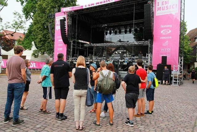 So sieht es hinter den Kulissen des I EM Music-Festivals aus