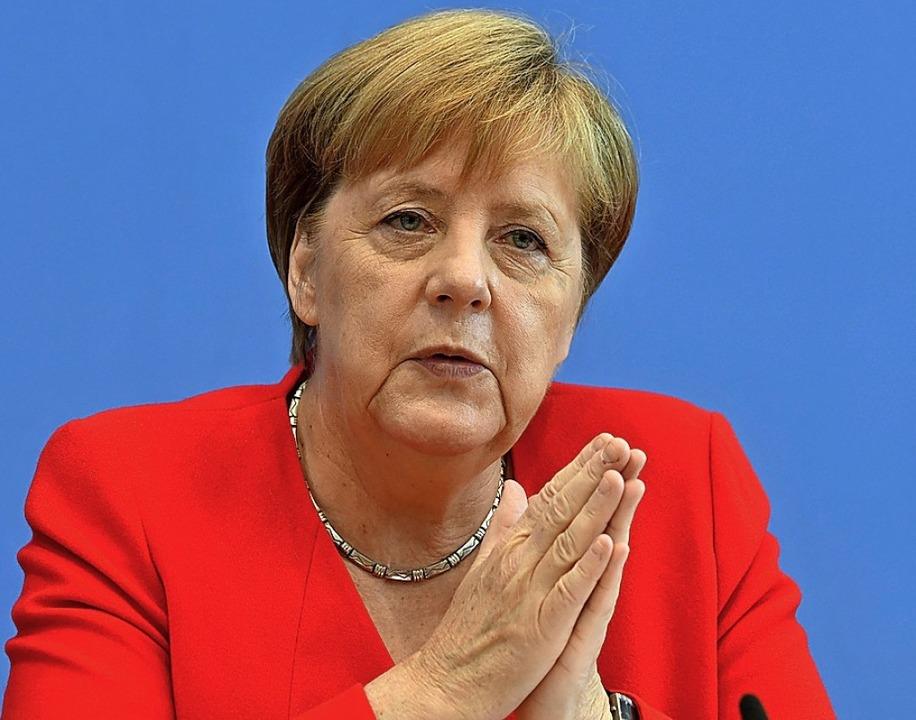 Kanzlerin Angela Merkel   | Foto: JOHN MACDOUGALL (AFP)