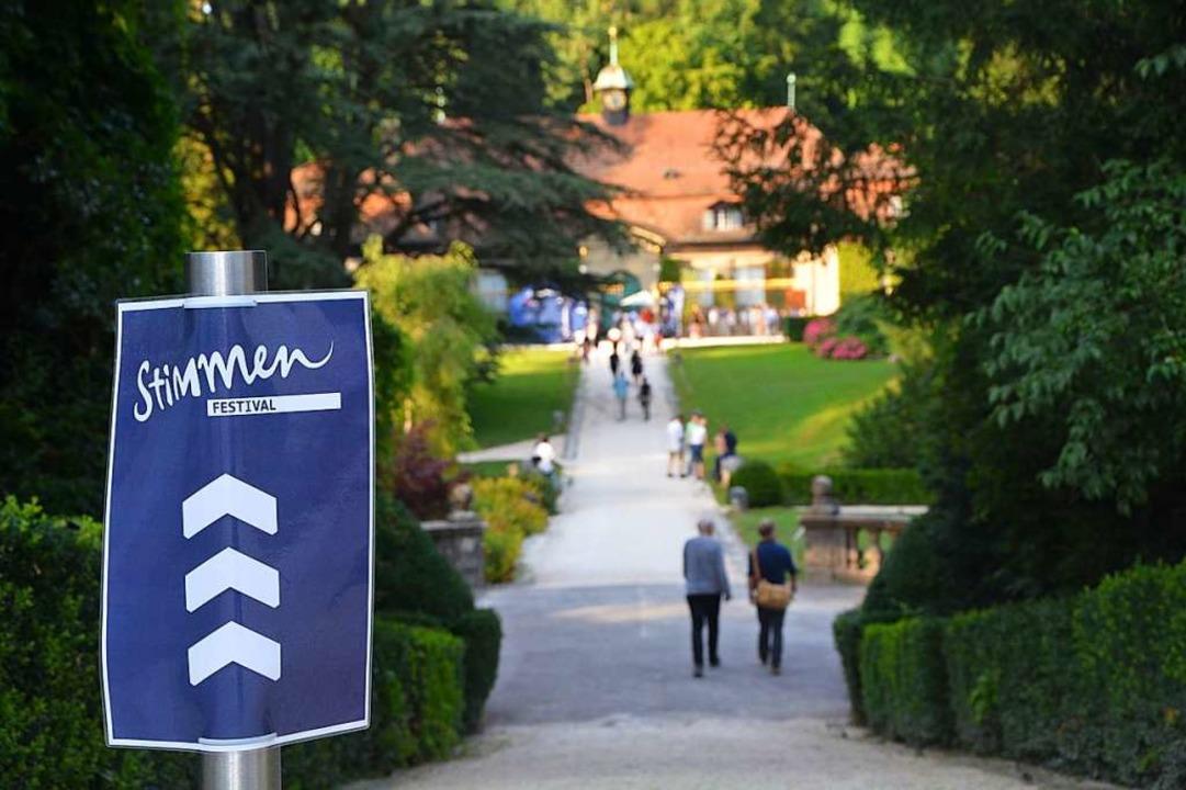 Der Wenkenpark mit seiner Reithalle hat sich als Spielort fest etabliert.  | Foto: Barbara Ruda