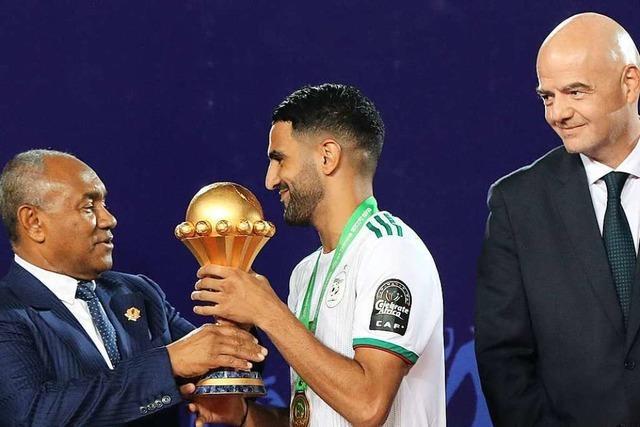 Algerien gewinnt Afrika-Cup durch glückliches 1:0 im Finale gegen Senegal