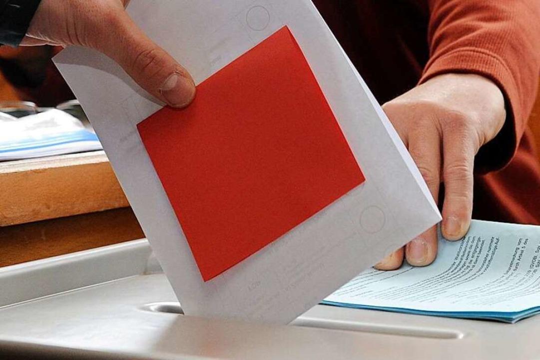 In Lahr wird im September ein neuer Ob...rbürgermeisterin gewählt (Symbolbild).  | Foto: Carsten Rehder
