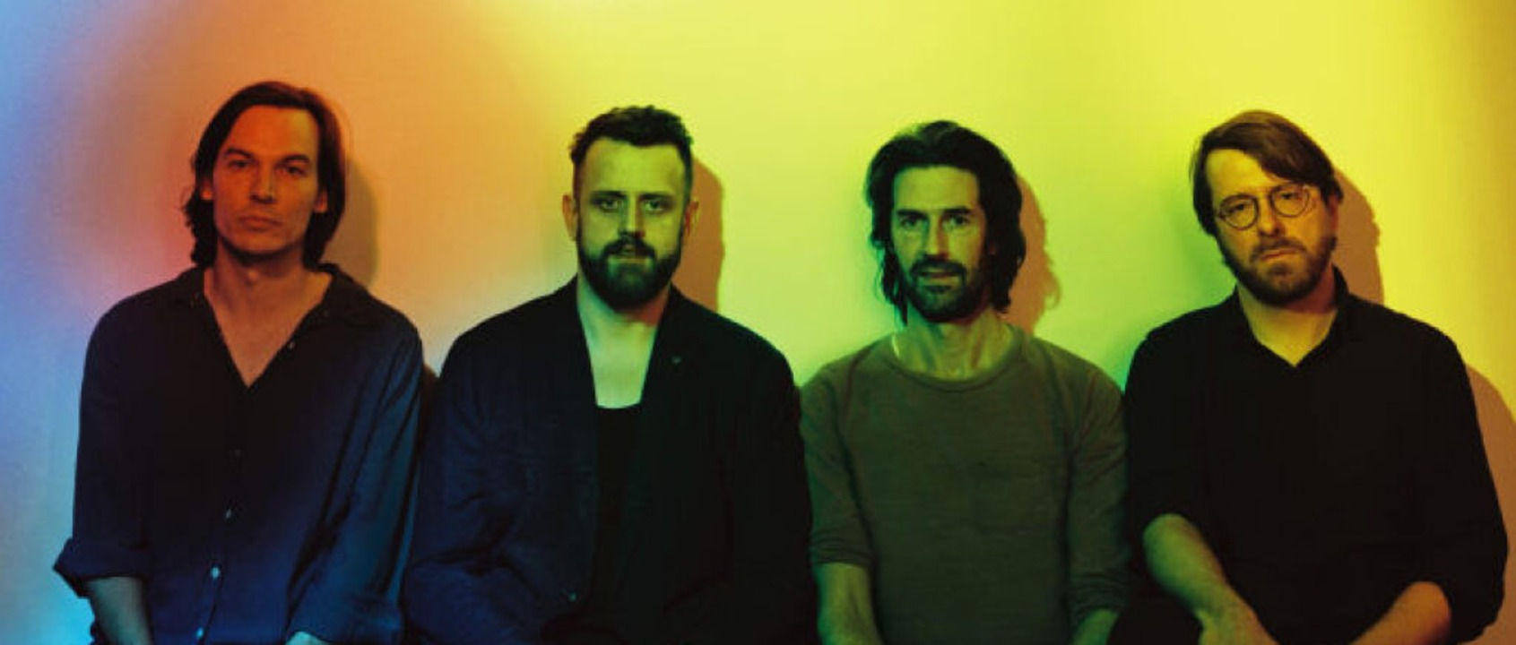 Deutscher Pop, der weder schmachtet no...links) und Francesco Wilking (rechts).  | Foto: Joachim Germ