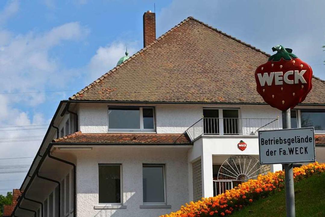 Die Firma Weck hat ihren Hauptsitz in ...rf werden die Weck-Gläser hergestellt.    Foto: Erika Bader