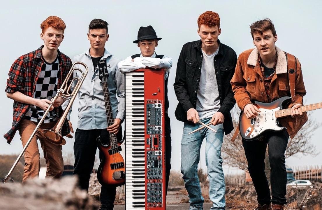 Die fünf Musiker der Müllheimer Band T...von Blueslegende Ray Charles benannt.     Foto: Roadjacks Promo