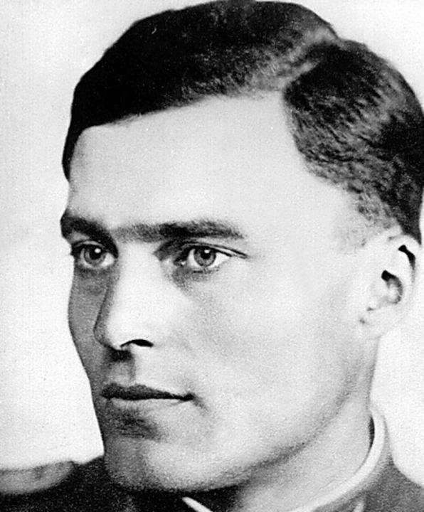 Das Recht über den unrechtmäßigen Befe...lt: Claus Schenk Graf von Stauffenberg  | Foto: - (dpa)