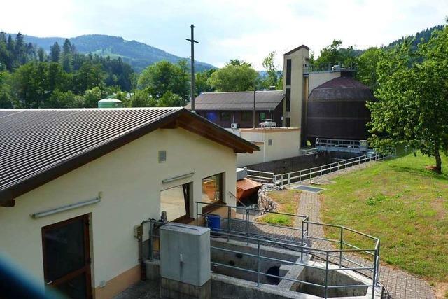 In der Kläranlage in Schönau soll Strom aus Faulgas erzeugt werden