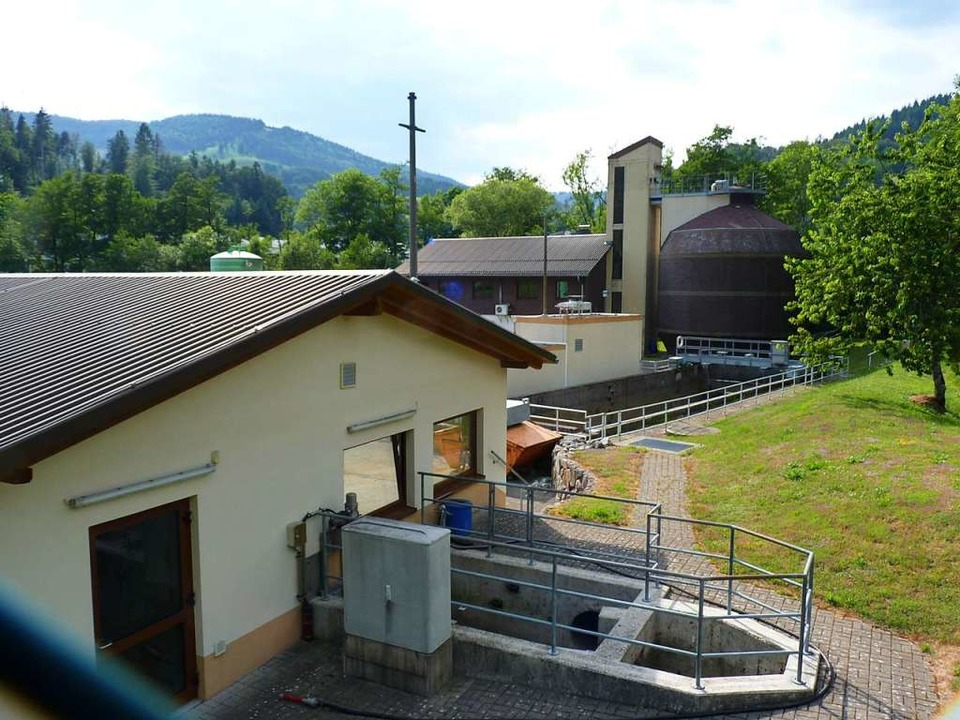 Zu größeren Modernisierungen soll es a...Kläranlage des GVV in Wembach kommen.   | Foto: Dirk Sattelberger