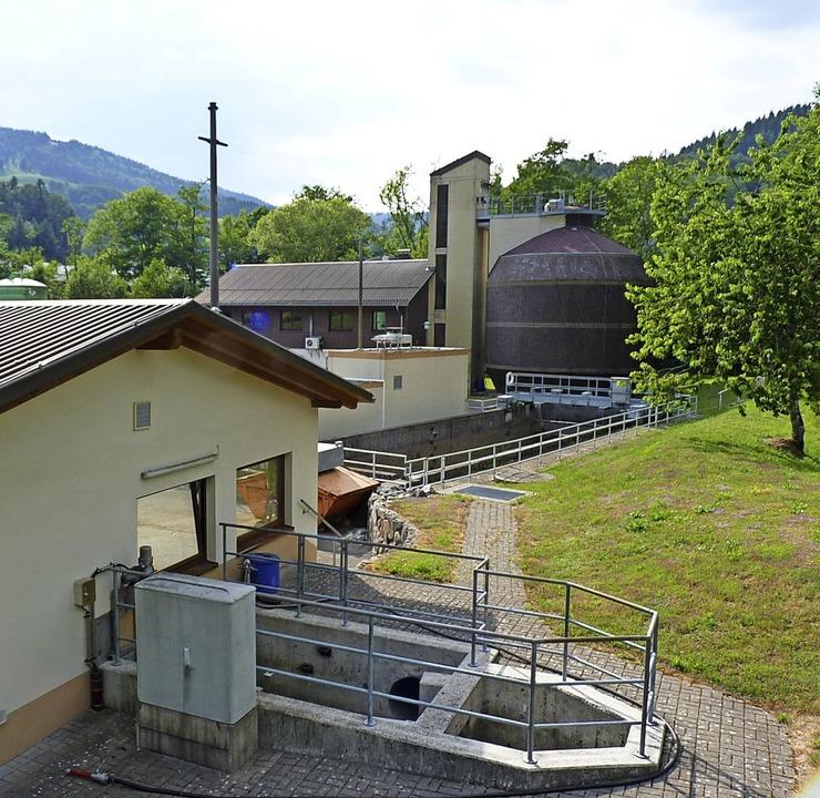 Zu größeren Modernisierungen soll es a...Kläranlage des GVV in Wembach kommen.     Foto: Dirk Sattelberger