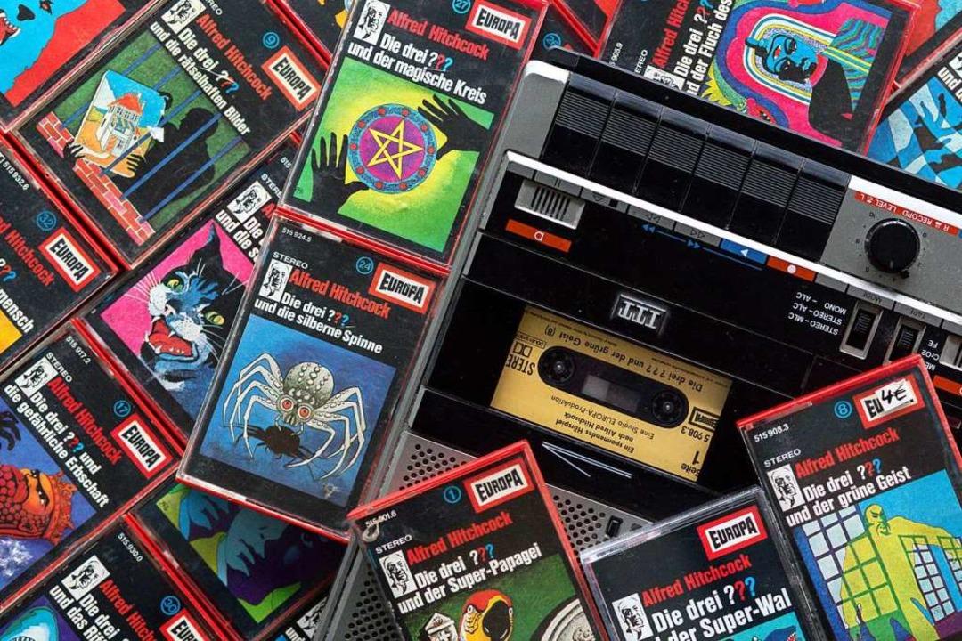 Ganz schön Old School: Die Hörspielkassette  | Foto: Wolfram Kastl (dpa)