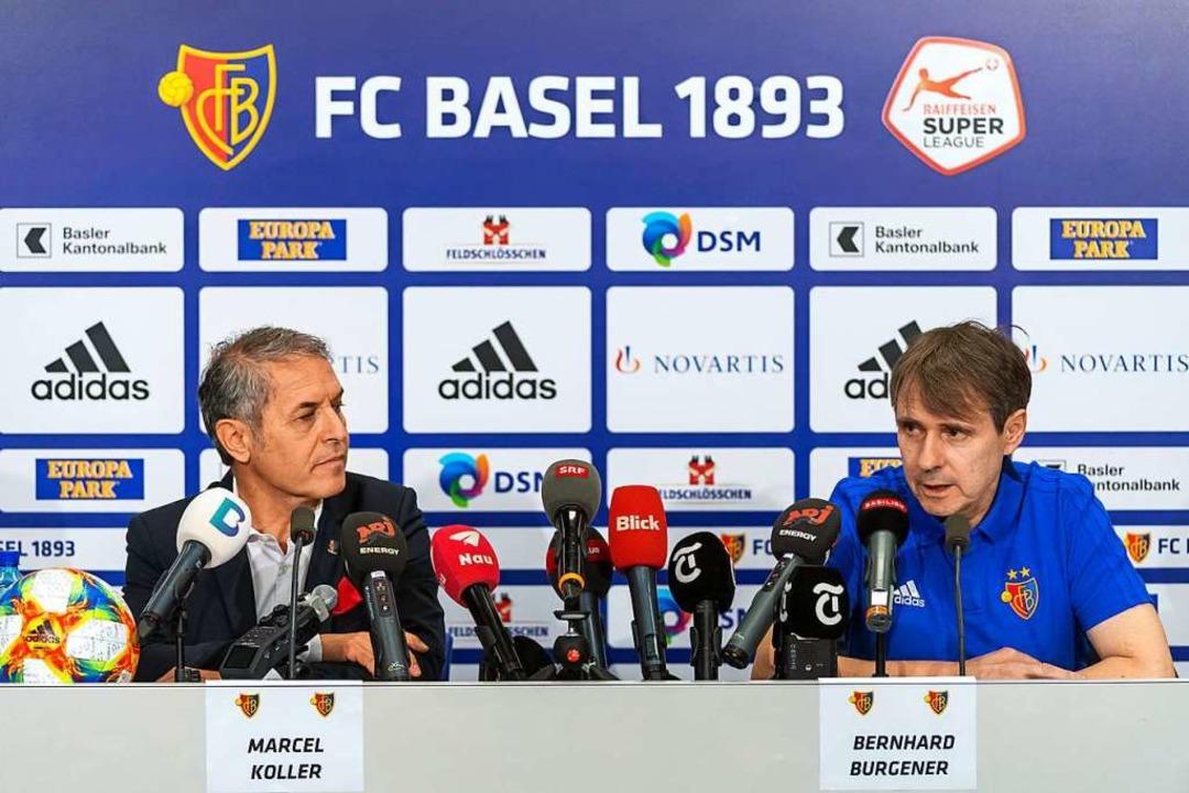 """Immer ruhig geblieben"":  Basels  Trainer Marcel Koller   | Foto: Georgios Kefalas (dpa)"
