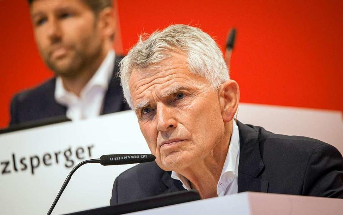 Ex-Präsident Wolfgang Dietrich.  | Foto: Christoph Schmidt