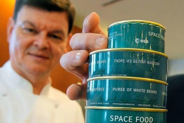 Was isst man eigentlich im Weltraum?