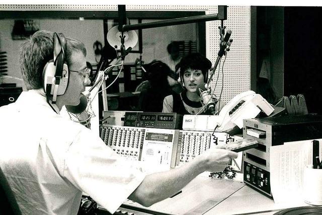 Der kanadische Radiosender CFN brachte die Rockmusik nach Lahr