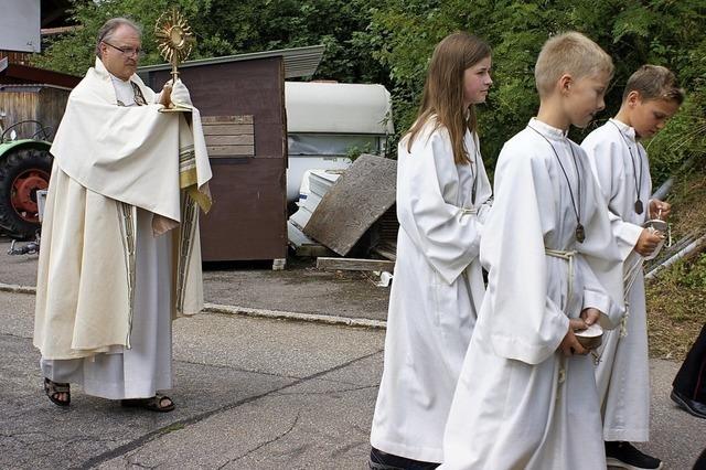 Prozession in Segeten
