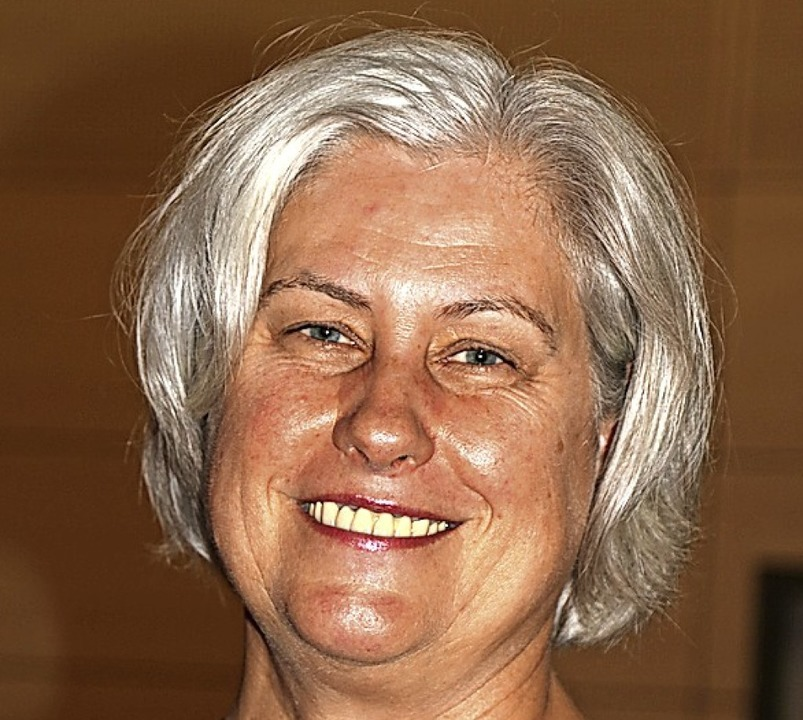 Letztmals überreichte Birgitta Stephan...r, welche die Pädagogin sehr bedauert.  | Foto: Martha Weishaar