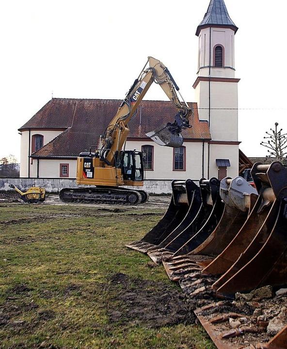 In Müllen herrscht Baustopp.   | Foto: Heidi Fößel