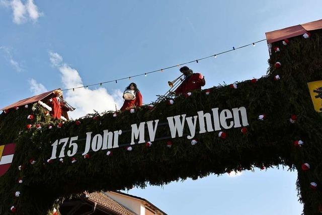 Das Güggelifest zum 175-Jahr-Jubiläum des Musikvereins Wyhlen war ein Erlebnis für Musiker und Besucher